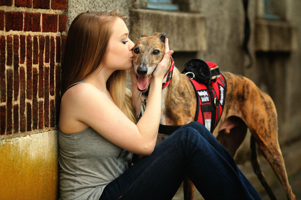 Greyhound Helps Teen Battle Lupus